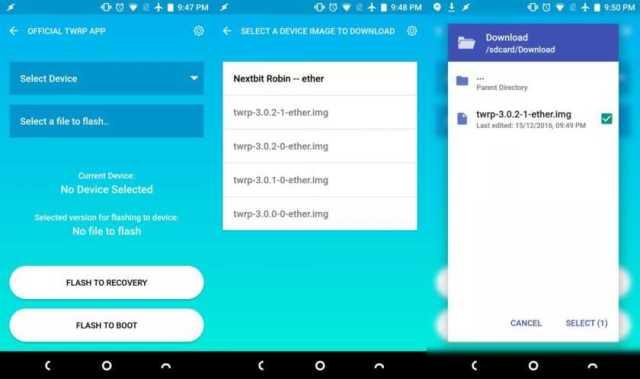 download-official-twrp-app