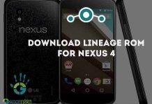 Nexus-4-LINEAGEOS-ROM
