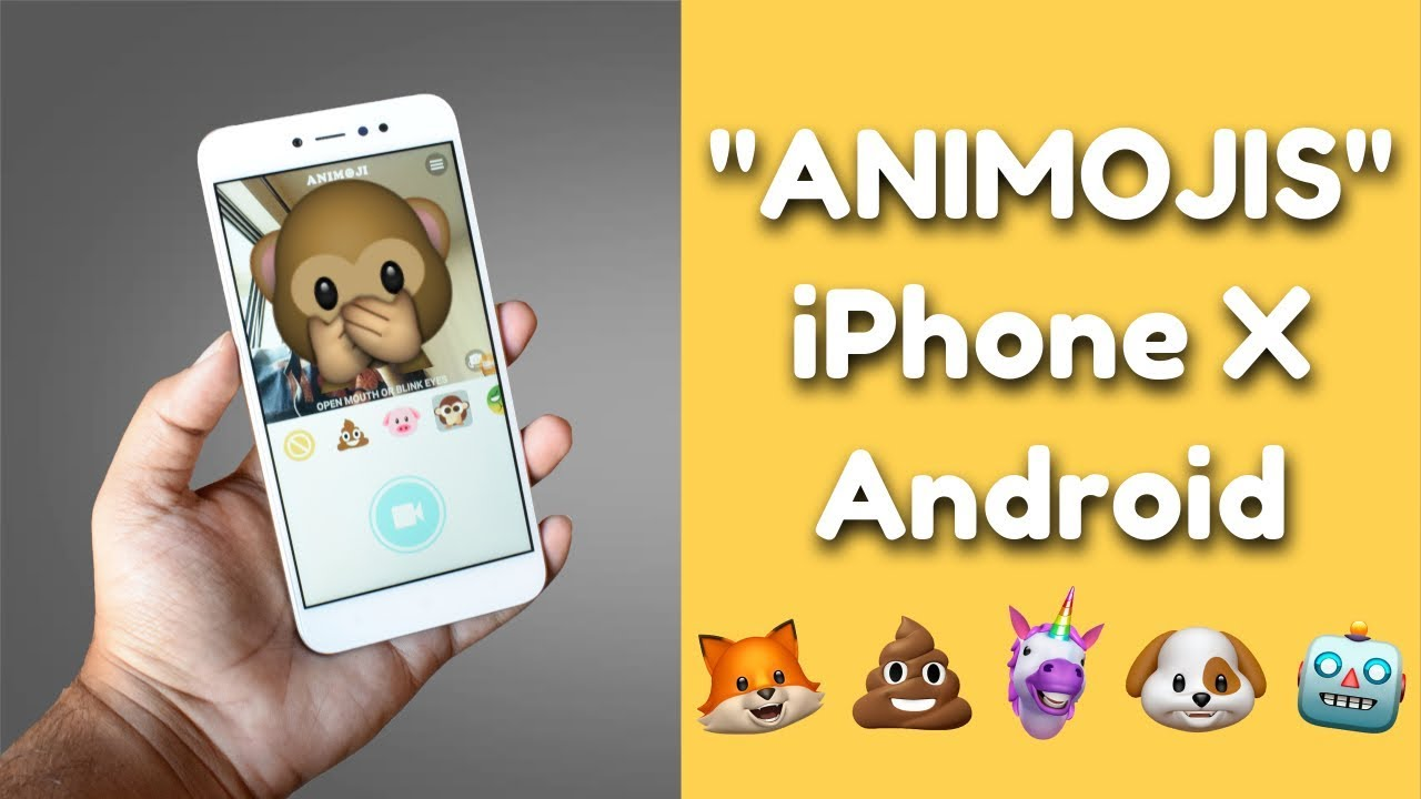 Get iPhone X Animojis On Any Android Device