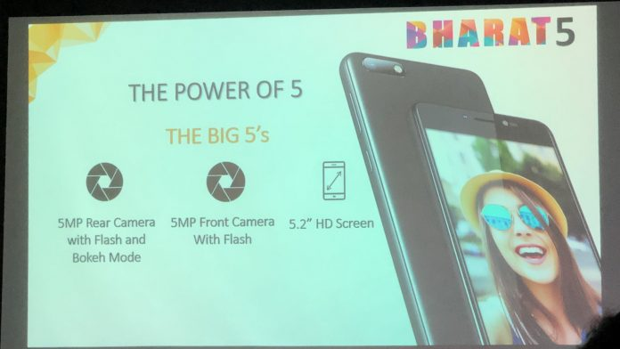 Micromax Bharat 5: Price, specifications and offers
