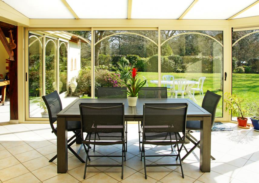 salon de jardin en aluminium gamm vert
