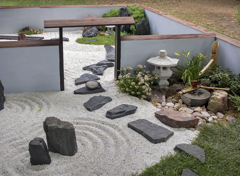 un mini jardin japonais gamm vert
