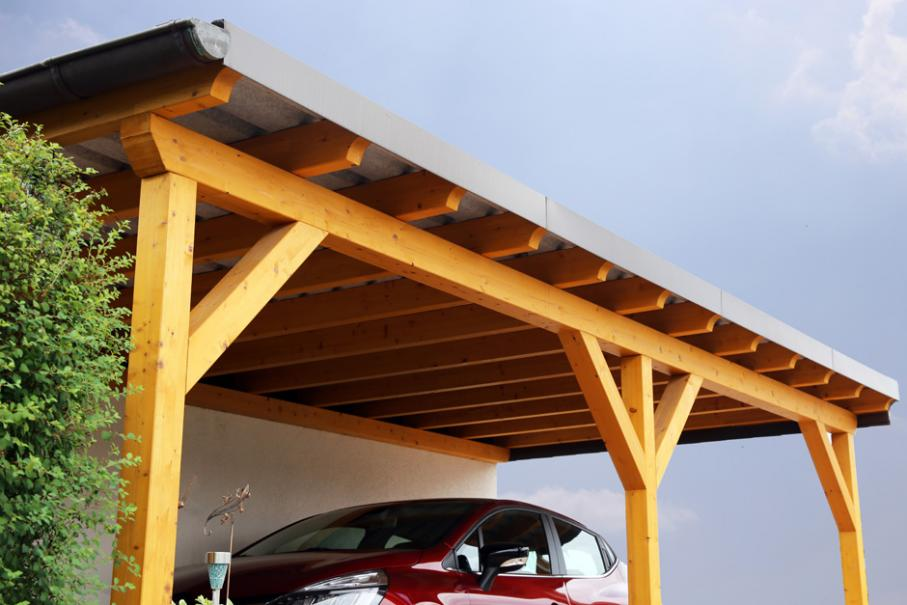 comment construire un carport adosse a