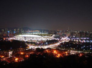 Il Sangam Stadium di Seoul, dove si è tenuta la finale di League of Legends 2014 - Gamobu