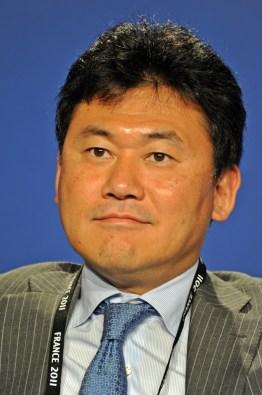 Hiroshi Mikitani, Chairman & CEO di Rakuten