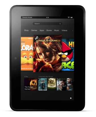 Il Kindle Fire HD 7, uno degli e-reader in offerta con Kindle Unlimited