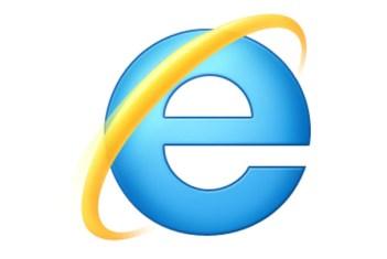 Lo storico simbolo di Microsoft Internet Explorer