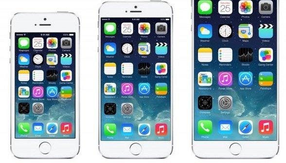 iPhone 5s, iPhone 6 e iPhone 6 Plus
