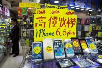iPhone 6 in vendita in Cina