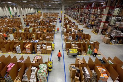 Un centro Amazon