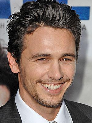 Un sorridente James Franco
