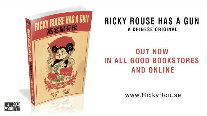Un'immagine promozionale di Ricky Rouse has a Gun