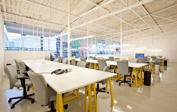 Uno spazio in cui è possibile effettuare coworking