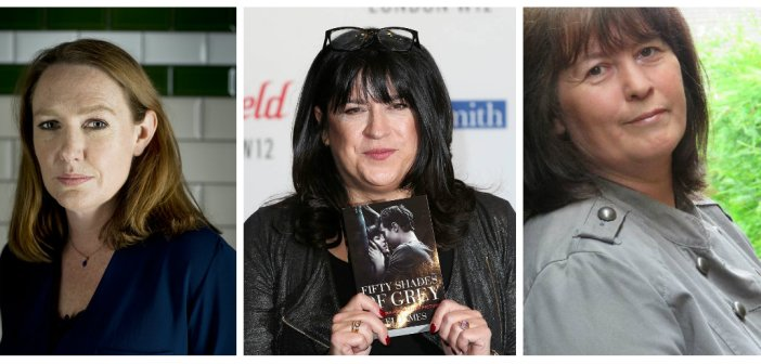 Paula Hawkins, E. L. James, Angela Marsons