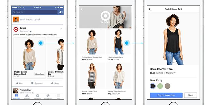 Facebook introdurrà una sezione Shopping