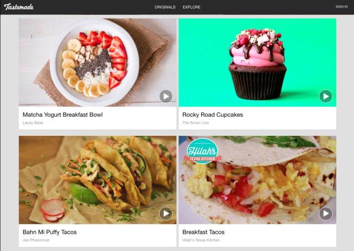 Tastemade.com - Homepage - Gamobu