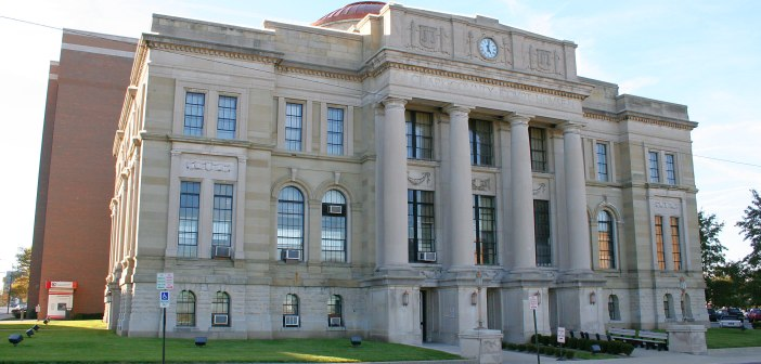 La Corte di Giustizia di Clark, in Ohio USA (fonte: wikimedia.org)
