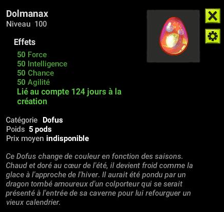 Dofus almanax Dolmanax