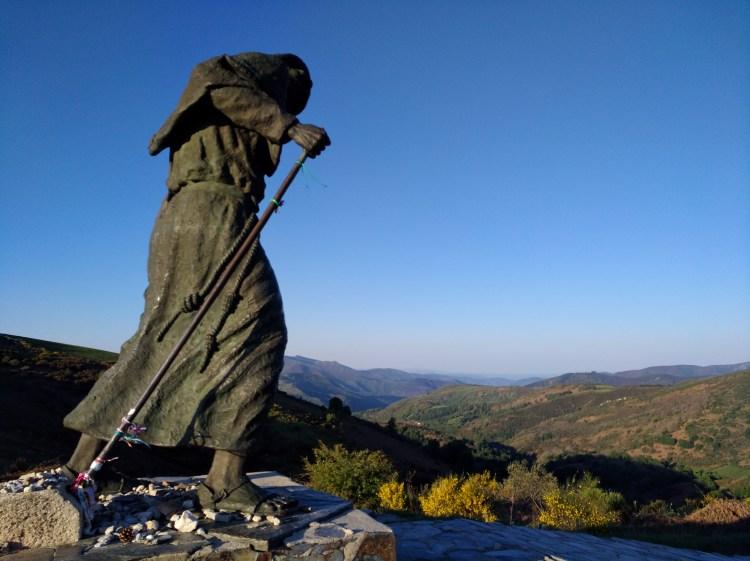 Pilgerstatue in Galizien