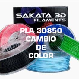 PLA 3D850 Cambio de Color