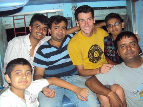 Le train en Inde, plutôt convivial!