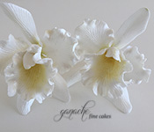 Handcrafted Sugar Flowers- Cattleya Orchid