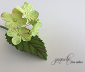 Handcrafted Sugar Flowers- Hydrangea