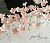 Handcrafted Sugar Flowers- Cherry Blossoms