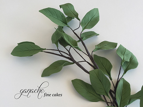 Handmade Sugar Tree Leaves