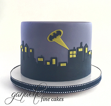 Batman City Scene Cake