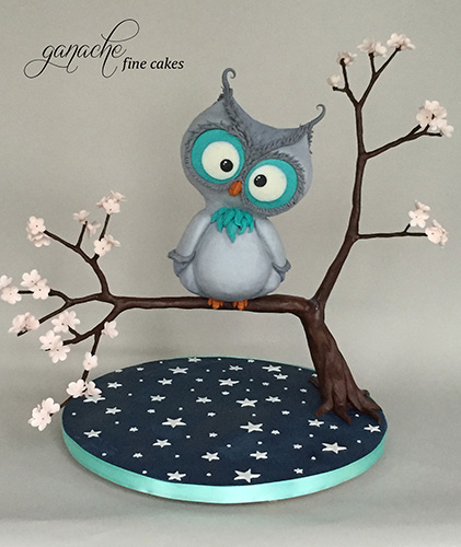 Ollie The Night Owl Cake