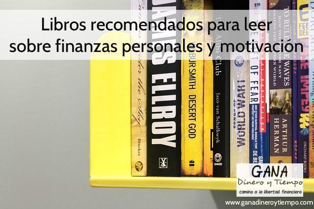 Libros recomendados para leer sobre finanzas personales y motivación