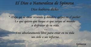 El Dios o Naturaleza de Spinoza