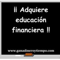 Adquiere educación financiera