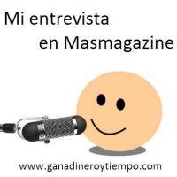 Mi entrevista en Masmagazine