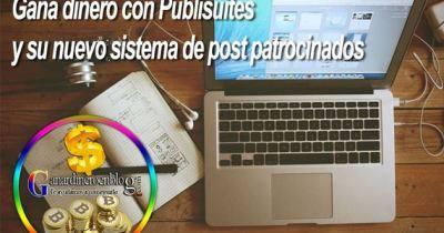 Publisuites – Ganar dinero con post patrocinados – Content marketing en español