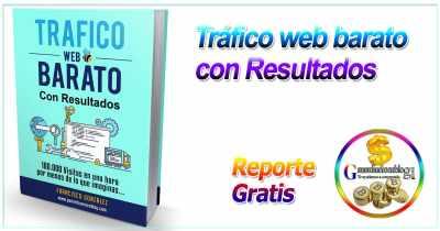 Consigue ahora tráfico web barato con resultados + Reporte Gratis