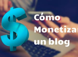 monetizar un blog 2018