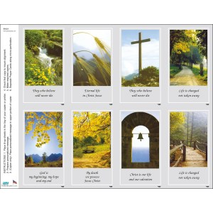 All Print Your Own Prayer Card Sheets
