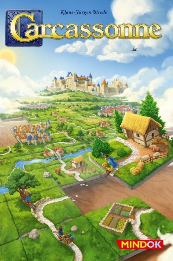 Bard Gra Carcassonne Druga edycja + 2 rozszerzenia