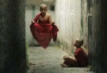 Levitation Monk