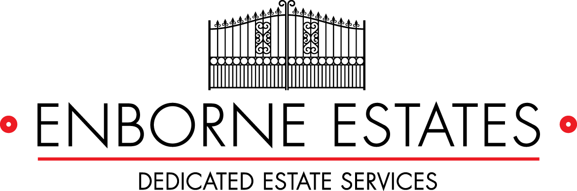 An image of the logo of Enborne Estates dedicated estate services