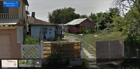 FOTO captura Google Street View - Ovidiu Aparaschivei