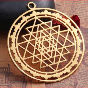 médaille sri yantra
