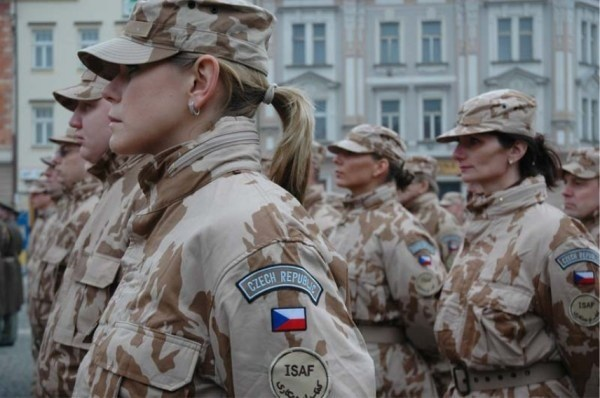 Most Attractive Female Armed Forces