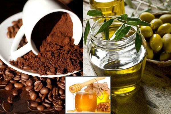 Coffee and honey-Home Remedies for Glowing Skin.