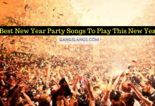 Best New Year Party Songs