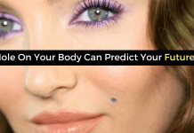 Mole On Your Body Can Predict Your Future!