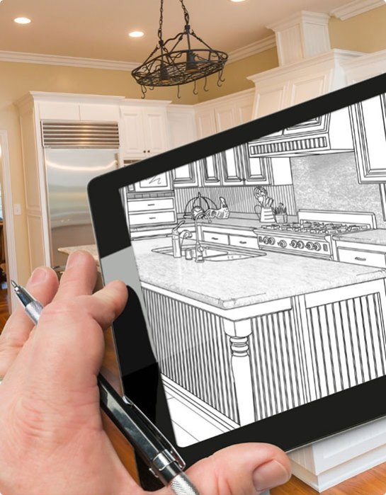 Design Build Image With Tablet