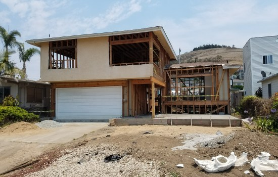 new garage with second story